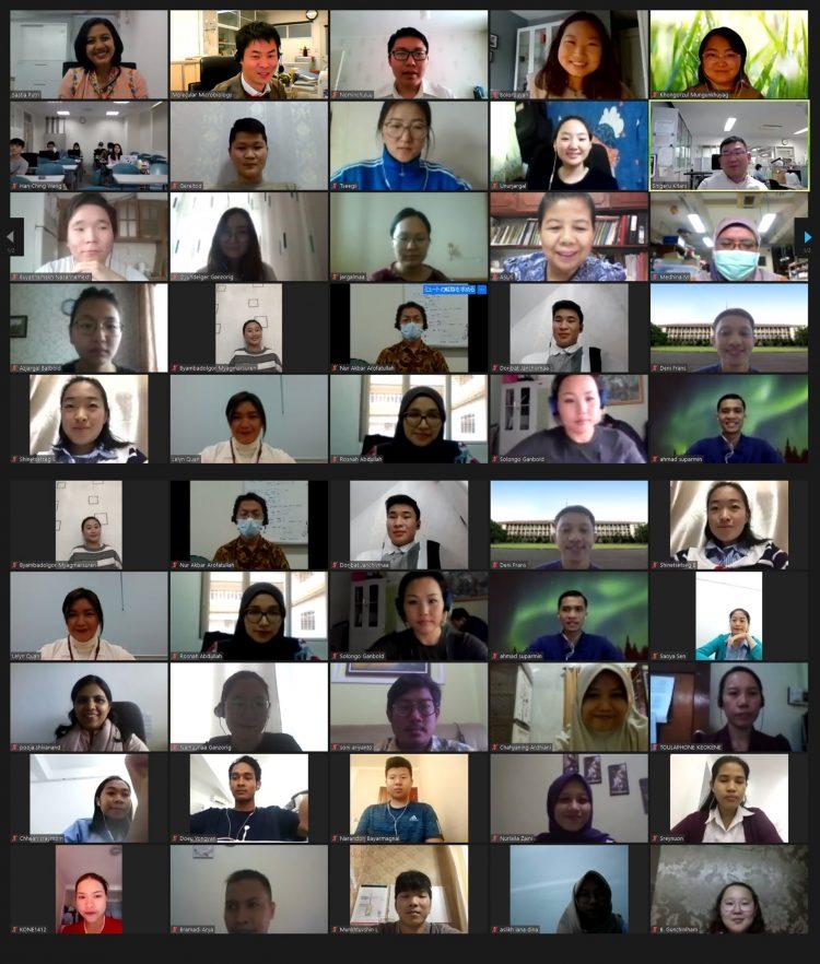 МУИС-ийн Биологийн тэнхимийн оюутнууд олон улсын цахим семинарт оролцлоо